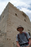 Chris at Kolossi Castle
