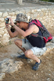 Chris Photographing Sanctuary of Apollo Ylatis