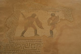 Mosaics at Kourion-Gladiators