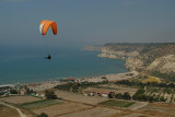 Paraglider at Kourion