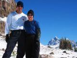 Steve and Carol on the Death Canyon Shelf