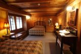 Our room in the Old House at Old Faithful Inn