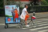 Burn Notice TV Series Bicycle Advertisement