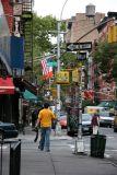 Heading West - Street View at Mott Street
