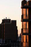Sunset on  Neighboring Terraces