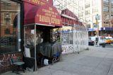 Closed Banana Express Market at Varick Street