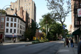 Sheridan Square near Washington Place