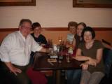 Norman, Stefani, Carol Webb(Nora's mom) Tricia, Nora