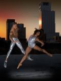 Yannick Lebrun and Aisha Mitchell