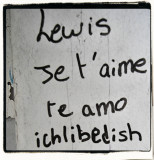 Did you know that my nickname is LEWIS ? ;-)