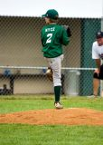 Little League Baseball in rural Virginia