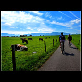 Ridding the bike and shooting ... in Bavaria...of course...