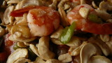 shrimps with cashew nuts