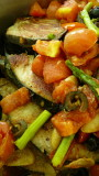 fish fillet & vegetables