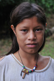 Yuqui Girl - Bia Recuate, a Yuqui village on the Rio Chimore