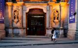 In front of Teatro Omisti