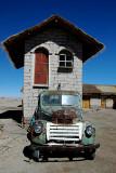 Salt Block House on Salar de Uyuni
