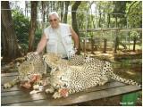 Moi avec les guépards