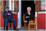 Vieux couple de Burano