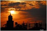 Eglise coucher soleil