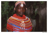Jeune fille masaï
