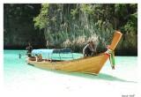 Long trail boat Maya Bay