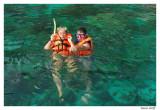 Snorkeling avec les poissons