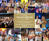 My photos of a charity party used to create thank you e-card