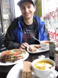 Soup--and salad!
