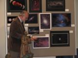 David Malin explaining my Cometary Globule image