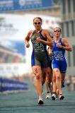 Sarah Kortuem - Beijing World Cup Triathlon Sept. 2006