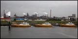 Pilotboats outside Amsterdam - Holland