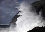 Stormwave on Corvo - The Azores