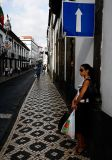 Girl in Ponta Delgada