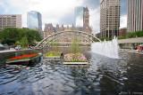 City Hall fountain