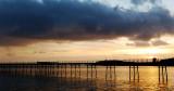 Sunrise over Ramsey Pier