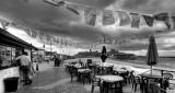 Street cafe, Peel, IOM
