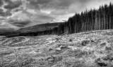 Approaching storm, Scotland