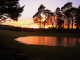 Sunset from Aboyne Golf Course2