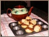 Apple Biscuits  & Tea