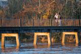 Black Bridge in Flood