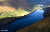 IRELAND - CO.WICKLOW - GLENDALOUGH  - VIEW FROM THE SPINK TRAIL