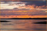 IRELAND - CO.SLIGO - SUNSET OVER SLIGO BAY