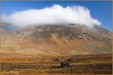 IRELAND - CO.GALWAY - CONNEMARA - MAUMTURK MOUNTAINS OPPOSITE LOUGH INAGH