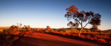 Karijini red and blue dawn