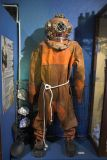 Old pearl diving suit from the 50s