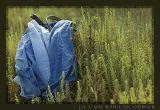 Cloth Bundle of a Clam Searcher