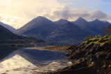 The 5 sisters of Kintail from Letterfearn