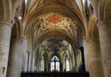 the crossing and choir above the rood screen