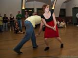 Davis & Claudia Lindy Hop Demo at Swing City, 24 October 2009